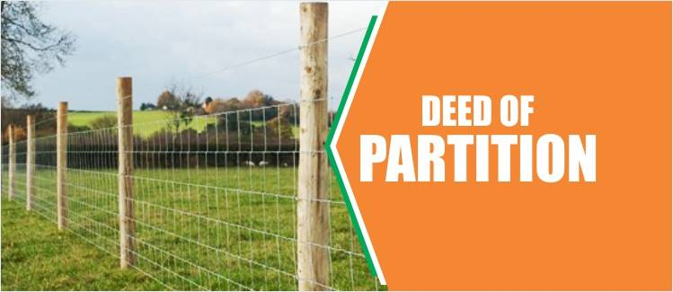 Partition Deed in Noida
